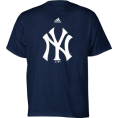 adidas - New York Yankees Navy Adidas Team Logo Youth T-Shirt - T-shirts - $15.99