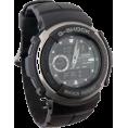 CASIO Watches -  Casio Men's G300-3AV G-Shock Ana-Digi Black Street Rider Watch