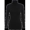 MoonStone - Black High Neck Long Sleeve Sl - Cardigan -