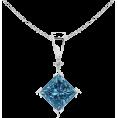 Angara Inc.  Necklaces -  Brilliant Rhombus Pendant