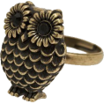 Denise  - Owl - Rings -