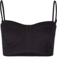 Full Tilt - FULL TILT Bra Top Black - Top - &#36;11.99 