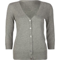 Full Tilt - FULL TILT Essential Womens Cardigan Grey - Cardigan - &#36;19.99 