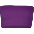 Full Tilt - FULL TILT Seamless Bandeau Grape - Underwear - &#36;6.99 