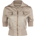 Full Tilt - FULL TILT Twill Womens Jacket Khaki - Jacket - coats - $24.99