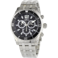 Invicta Satovi -  Invicta Men's 0621 II Collection Chronograph Stainless Steel Watch