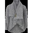 Pepeljugica - Gray pullover - Cardigan -