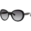 Amazon.com Sunglasses -  Kate Spade Nerissa/S Sunglasses - 0807 Black (Y7 Gray Gradient Lens) - 56mm