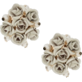 Nalan Radu - Little Roses - Earrings - $25.00