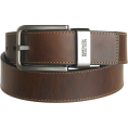 "Kenneth Cole Reaction - Kenneth Cole REACTION Men's Brown Out 1-1/2"" Leather Reversible Belt Brown/Black - ベルト - $23.00  ~ ¥2,261"