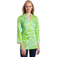 Lilly Pulitzer Tunic -  Lilly Pulitzer Women's Ciara Tunic Blue Hot House