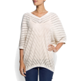 Mango Shirts -  Mango Women's Oversize Knit Jumper Neutral