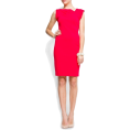 Mango Haljine -  Mango Women's Slim-fit Cocktail Dress Coral