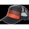 Quiksilver Kape -  Quiksilver Boards Trucker Hat - Men's Black Red  Size:   One Size