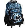 Quiksilver Backpacks -  Quiksilver Boys 8-20 Hall Pass Rolling Backpack Blue Pop