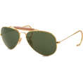 Ray-Ban Sunglasses -  Ray-Ban Men's RB3030 Aviator Outdoorsman Sunglasses