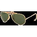 Ray-Ban Sunglasses -  Ray-Ban Men's RB3030 Aviator Outdoorsman Sunglasses