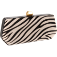 Rebecca Minkoff - Rebecca Minkoff  Fling Clutch Zebra - Clutch bags - $325.00
