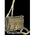 Rebecca Minkoff - Rebecca Minkoff  Mini Mac Clutch Lame Clutch Gold lame - Clutch bags - $196.87