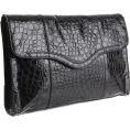 Rebecca Minkoff - Rebecca Minkoff Beau Clutch Shiny Black - Clutch bags - &#36;395.00 
