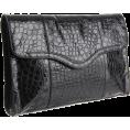 Rebecca Minkoff - Rebecca Minkoff Beau Clutch Shiny Black - Clutch bags - $395.00