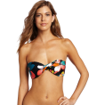 Roxy Kupaći kostimi -  Roxy Juniors Gypsy Paradise Twist Bandeau Top Black