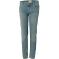 Roxy Pants -  Roxy Skinny Slides Denim Pant - Girls' Palapa Pale Rinse