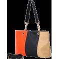 MG Collection Hand bag -  SUCHIN Tri-Tone Embossed Woven Pattern Fashion Double Chain Top Handle Hobo Handbag Shopper Tote Satchel Purse Shoulder Bag w/Shoulder Strap Orange