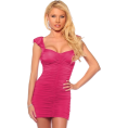Hot from Hollywood Haljine -  Sexy Cocktail Party Clubwear Fitted Hot Prom Mini Dress