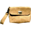 Silva Sai - Silva Sai beige clutch bag - Clutch bags - 