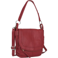 The SAK Hand bag -  THE SAK Women's Silverlake Mini Flap Fashion Handbag Scarlet