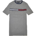 Tommy Hilfiger Majice - kratke -  Tommy Hilfiger Men Classic Fit Logo T-Shirt Dark Grey