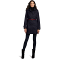 Tommy Hilfiger Jacket - coats -  Tommy Hilfiger Women's Marlo Water Resistant Fall Rain Trench Coat Midnight Navy