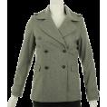 Tommy Hilfiger Jacket - coats -  Tommy Hilfiger Wool Blend Coat Pale Grey
