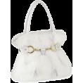 Pepeljugica - Torba Clutch bags White - Torbe s kopčom -