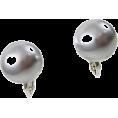 ABISTE(アビステ) - マジョルカパール12mm玉イヤリング/ライトグレー - Earrings - ¥3,570  ~ $36.32