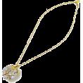 ABISTE(アビステ) - ハートクリスタルネックレス/ゴールド - Necklaces - ¥16,800  ~ $170.92