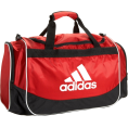 adidas - adidas Defender Medium Duffel University Red - Bag - $34.99