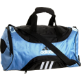 adidas - adidas Striker Small Duffel Collegiate Light Blue/Black - Bag - $28.49