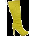 Elena Ekkah - Boots Yellow - Škornji -