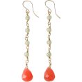 AMERICAN RAG CIE(ラグシー) - アメリカンラグ シー[AMERICAN RAG CIE] 天然石ピアスピンク - Earrings - ¥5,250  ~ $53.41