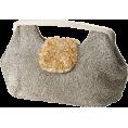 GALLARDAGALANTE(ガリャルダガラ) - ガリャルダガランテ[GALLARDAGALANTE] フラップストーンビーズBAGシルバー - Clutch bags - ¥17,640  ~ $179.46