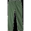 GALLARDAGALANTE(ガリャルダガラ) - ガリャルダガランテ[GALLARDAGALANTE] 【WIM NEELS】コラボ Basicパンツグリーン - Pants - ¥21,000  ~ $213.65