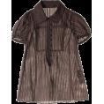 JILLSTUART(ジルスチュアート) - ジル スチュアート[JILLSTUART] ブラウスブラウン - Shirts - ¥10,500  ~ $106.82