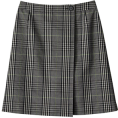 MACKINTOSH PHILOSOPHY - マッキントッシュ フィロソフィー[MACKINTOSH PHILOSOPHY] グレンチェック Aラインスカートグレー - Skirts - ¥17,850  ~ $181.60