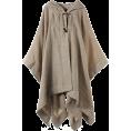 martinique(マルティニーク) - マルティニーク[martinique] 【再入荷】Faliero Sarti 素材マントコートベージュ - Jacket - coats - ¥60,900  ~ $619.57