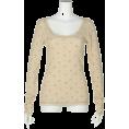 gelato pique(ジェラート・ピケ) - リトルフラワーブーケワッフルロングスリーブ - Long sleeves t-shirts - ¥3,990  ~ $40.59