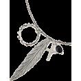 OLLINKARI(オリンカリ) - リングモチーフフェザーネックレス - Necklaces - ¥1,998  ~ $20.33