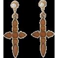 snidel(スナイデル) - 天然石クロスピアス - Earrings - ¥2,940  ~ $29.91