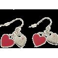 &by P&D アンドバイピンキーアンドダイアン - ダブルハートプレートシリーズ - Earrings - ¥2,310  ~ $23.50